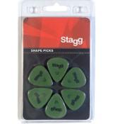 Stagg SPSTD X6-0.73 - kostki gitarowe