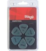 Stagg SPSTD X6-0.88 - kostki gitarowe