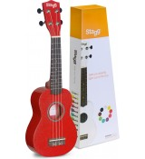 Stagg US-RED - ukulele sopranowe