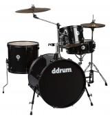 Ddrum D2 Rock Black Sparkle - akustyczny zestaw perkusyjny