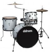 Ddrum D2 Rock Silver Sparkle - akustyczny zestaw perkusyjny