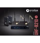 Prodipe HEADSET B210DUO DSP UHF - zestaw bezprzewodowy