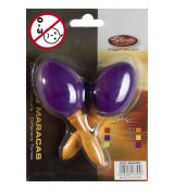 Stagg MA S/PP - marakasy plastikowe purpurowe