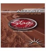 Stagg AC 1048 PH - struny do gitary akustycznej