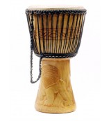"Unique Brands Djembe Ghana 11"" U11A-02"
