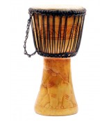 "Unique Brands Djembe Ghana 9"" U09A-01"