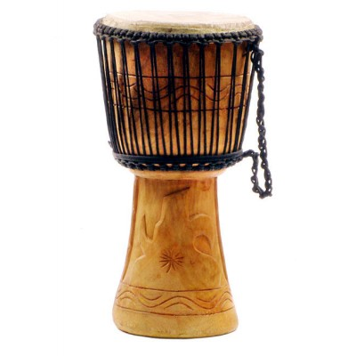"Unique Brands Djembe Ghana 9"" U09A-10"