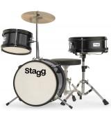 Stagg TIM-J 3/12 BK - akustyczny zestaw perkusyjny