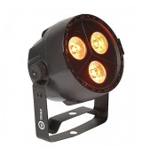 LIGHT4ME TRI PAR 3x4W LED RGBW mocny mobilny BLACK