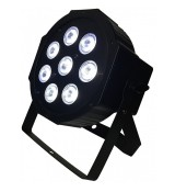 LIGHT4ME QUAD PAR 8x10W RGBW LED slim płaski