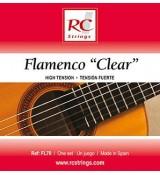 Royal Classics FL70 Flamenco Clear - Struny do gitary klasycznej