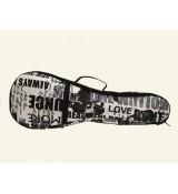 UKC12 Pokrowiec do ukulele koncertowego Zebra Music