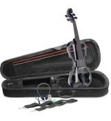 Stagg EVN X-4/4 BK – zestaw skrzypce elektryczne z akcesoriami