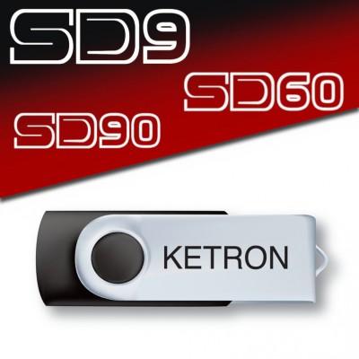 Ketron Pendrive AUDYA STYLE v2 Style Upgrade - pendrive z dodatkowymi stylami
