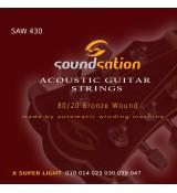 Soundsation SAW430 - struny do gitary akustycznej