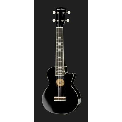 Harley Benton UK-L100E BK - ukulele sopranowe