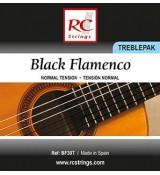 Royal Classics BF30T Black Flamenco - Wysokie struny do gitary klasycznej