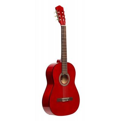 Stagg SCL50 3/4-RED - gitara klasyczna 3/4