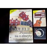 Zestaw edukacyjny ukulele książki + struny Aquila