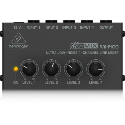 Behringer MX400 Micro Mix - mikser liniowy