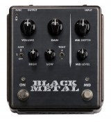 Egnater BLACK METAL – efekt high-gain distortion do gitary elektrycznej