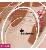 Galli RAGRA1254 Light - struny do gitary akustycznej