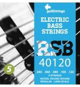 Galli RSB40120 Short Scale - struny do gitary basowej
