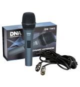 DNA Professional DM TWO - mikrofon dynamiczny + przewód mikrofonowy 5 m