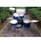Ddrum D2 Police Blue - zestaw perkusyjny + hardware, blachy