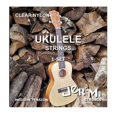 Jeremi Ukulele Clear Nylon - struny do ukulele