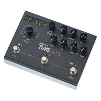 Strymon Timeline - cyfrowy delay - efekt gitarowy