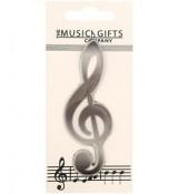 The Music Gifts Company - klucz wiolinowy - magnes na lodówkę