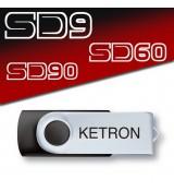 Ketron Pendrive AUDYA STYLE v6 Style Upgrade - pendrive z dodatkowymi stylami