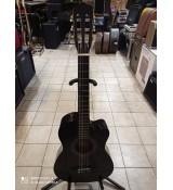 Gitara klasyczna NN Black 3/4 cutaway + pokrowiec