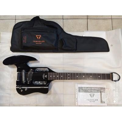 Traveler Guitar Speedster Hot Rod V2 Black - gitara elektryczna