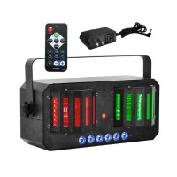 Light4Me Derby Mix Strobo Laser - multiefekt LED