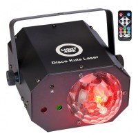 Light4Me Disco Kula Laser - multiefekt świetlny LED
