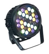 Light4Me Black Par 30x3W RGBWA - UV LED
