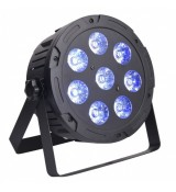 LIGHT4ME TRI PAR 8x9W MKII RGB LED slim płaski - reflektor