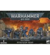 Warhammer 40,000 - Space Marines: Devastator Squad
