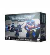 Warhammer 40,000 - Space Marines: Assault Intercessors + Paints Set