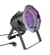 Cameo Light PAR 56 CAN - 108x10 mm LED PAR Can RGB in black housing, reflektor sceniczny LED