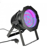 Cameo Light PAR 64 CAN - 183 x 10 mm LED PAR Can RGB in black housing, reflektor sceniczny LED