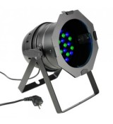 Cameo Light PAR 64 CAN - 36 x 3 W LED PAR Can RGB in black housing, reflektor sceniczny LED