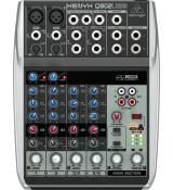 Behringer XENYX Q802USB 8-wejściowy mikser USB