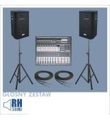 Głośny zestaw RH-12/2/400T + M1023PUSB + XP-263 + PRZEWÓD JACK 10m