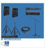 Przedszkolny zestaw PP-310AUS-BT + DW-24R + XP-260SET + XA-203BK + PRZEWÓD 6m