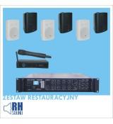 Restauracyjny zestaw ST-2350BC + BS-1060TS/B + DW-24R