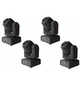 FRACTAL 4-PACK LED GOBO SPOT 10 W 4xgłowa LED
