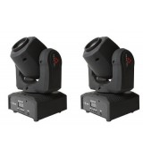 FRACTAL MINI LED GOBO SPOT 30 W DUAL PACK